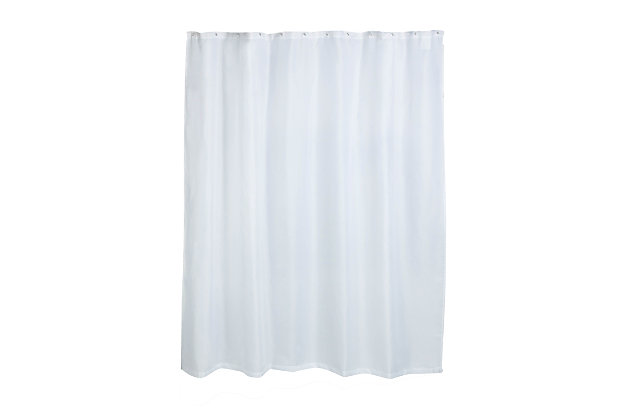 Honey-Can-Do Fabric Curtain Liner, , large