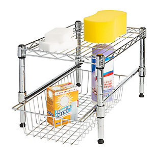 Honey-Can-Do Stacking Cabinet Organizer, , large