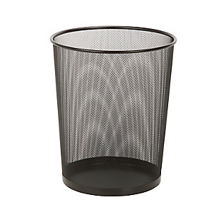 Honey-Can-Do Small Wire Mesh Trash Can, , large