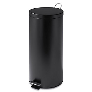 Honey-Can-Do 30L Round Matte Step Can, , rollover