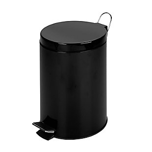 Honey-Can-Do 12L Round Step Can, , large