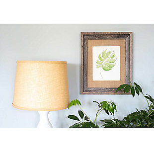 "Study Signature Picture Frame Matted for 8 x 10"" Photos - 100% Reclaimed Wood, Burlap Mat, , rollover"