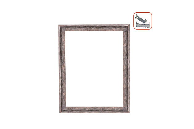 "Intriguing Rustic Farmhouse Open Signature 18 x 24"" Picture Frame - 100% Recycled and Reclaimed Wood, , large"