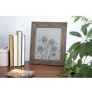 """Rustic 8 x 8"""" Picture Frame - 100% Reclaimed Wood, Espresso, , rollover"""