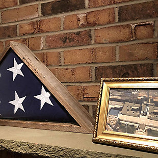 Triangle Flag Display Case, , large