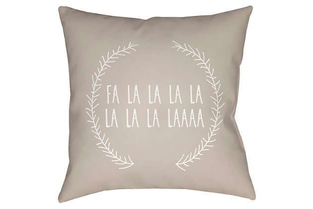 Home Accents Pillow, Beige, large