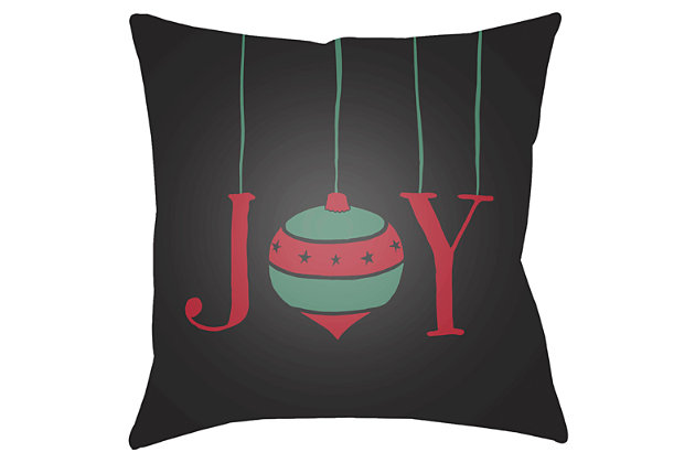 Home Accents Pillow, Black, large