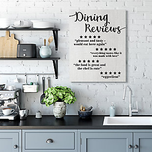 Dining Reviews Five Star Kitchen 30x40 Canvas Wall Art, , rollover