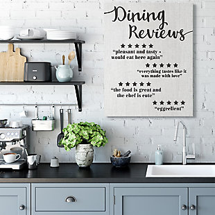 Dining Reviews Five Star Kitchen 36x48 Canvas Wall Art, Multi, rollover