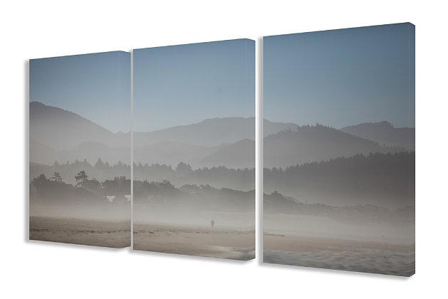 Sierras Solitude Photograph Triptych 3pc Set 16x24 Canvas Wall Art, Multi, large