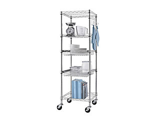 TRINITY EcoStorage™ 5-Tier Square Rack 18x18x56.5 NSF, , large