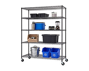 TRINITY 5-Tier 60x24x72 Wire Shelving, , large
