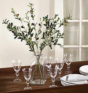 Faux Olive Branches (Set of 4), , rollover