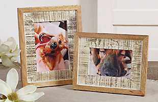 Distressed Wood Picture Frame, , rollover