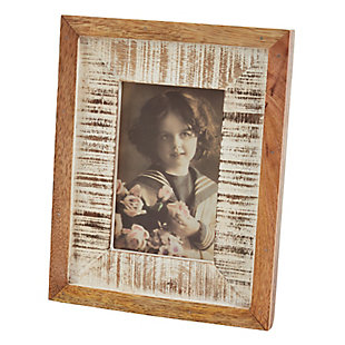 Distressed Wood Picture Frame, , large