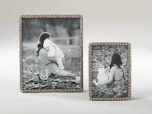 Jeweled Border Photo Frame, , rollover