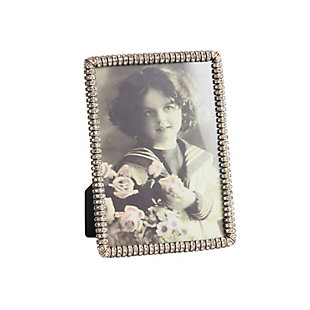 Jeweled Border Photo Frame, , large