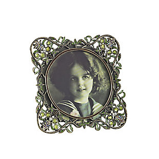 Jeweled Design Rounded Picture Frame, , large