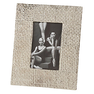 Portrait Picture Frame with Hammered Design, , large