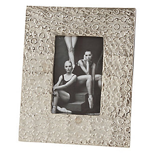 Circular Textured Photo Frame, , large