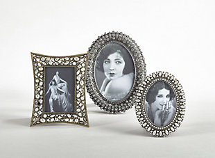 Jeweled Portrait Picture Frame, , rollover