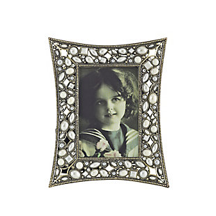Jeweled Portrait Picture Frame, , large