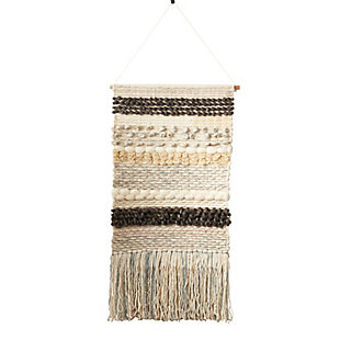 "Woven Multicolored 47""x24"" Wall Hanging, , large"