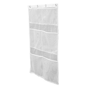 Kenney 6-Pocket Hanging Mesh Shower Organization Caddy, , large