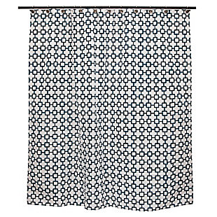 "Kenney Medium Weight Decorative PEVA Shower Curtain Liner, 70"" W x 72"" H, Multi, large"