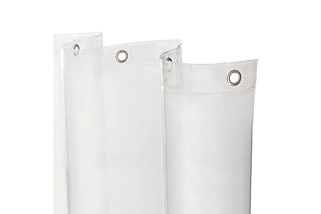 """Kenney Heavyweight PEVA Shower Curtain Liner, 70"""" W x 72"""" H, , large"""