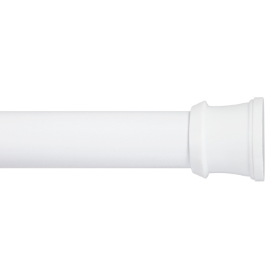 Buy Kenney Twist & Fit™ No Tools Tension Stall Shower Curtain Rod, 24-40