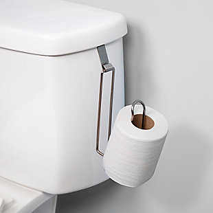 Kenney Over the Tank Toilet Paper Holder, , large