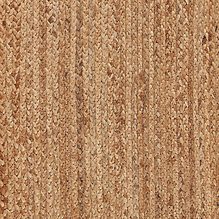 LR Home Classic Braided NaturalTable Runner, , large
