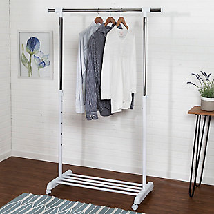 Honey-Can-Do Adjustable Garment Rack, , rollover