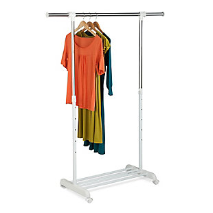 Honey-Can-Do Adjustable Garment Rack, , large