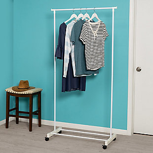 Honey-Can-Do Portable Garment Rack, , rollover