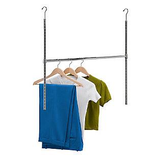 Honey-Can-Do Hanging Double Closet Rod, , large