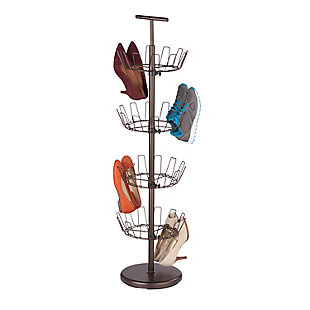 Honey-Can-Do Four Tier Bronze Shoe Tree, , large