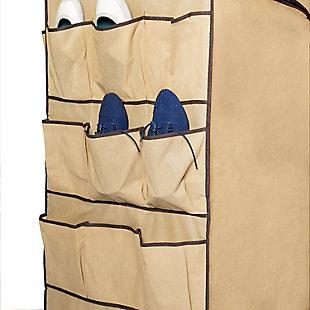 Honey-Can-Do Portable Double Door Wardrobe, , large