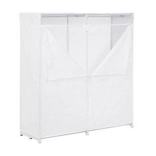 Honey-Can-Do Covered Wardrobe, , large