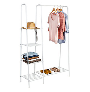 Honey-Can-Do Free Standing Closet with Shelves, , large