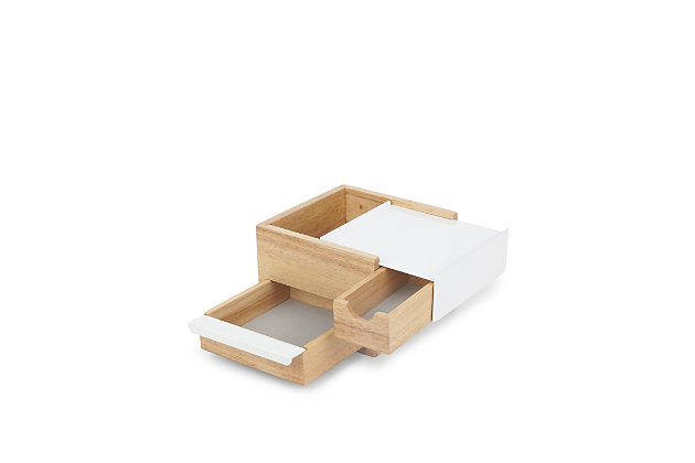 Umbra Stowit Mini Jewelry Box, Natural, large