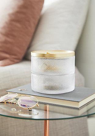 Umbra Tesora Box Glass, Brass, rollover