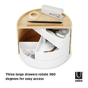 Umbra Moona Storage Box, Natural, large