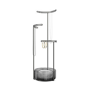 Umbra Tesora Jewelry Stand Glass, Smoke, large