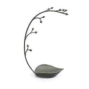 Umbra Orchid Jewelry Stand, Gun Metal, large