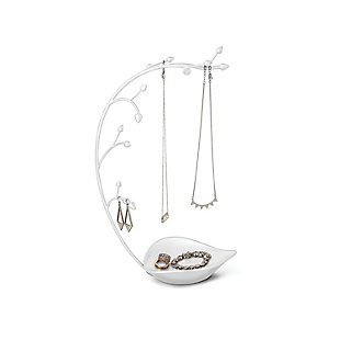 Umbra Orchid Jewelry Stand, White, large