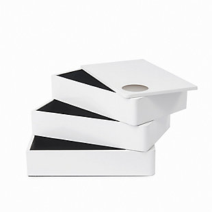 Umbra Spindle Storage Box, , large