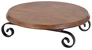 Home Accents Lazy Susan Serving Tray, , large