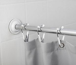 Umbra Flex Single Shower Ring Bundle 2 Packs of 12, White/Chrome, large